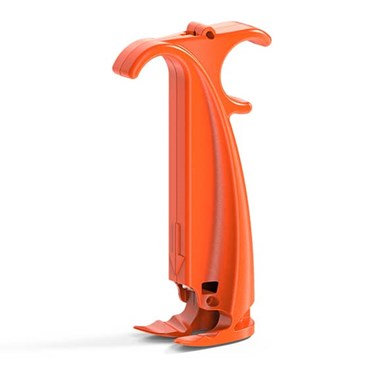 subq it orange injection molded part