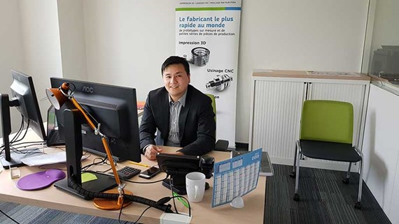 Solideth Chang - Sales Manager Protolabs France